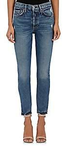GRLFRND Women's Karolina Skinny Jeans-Dk. Blue