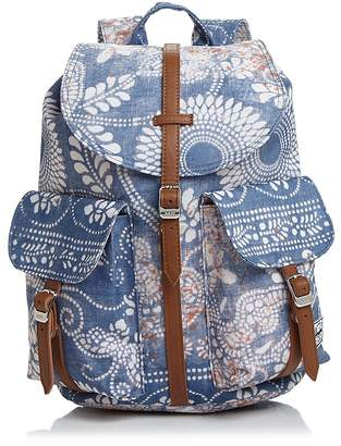 Herschel Dawson Printed Canvas Backpack