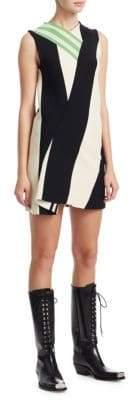 CALVIN KLEIN 205W39NYC Striped Shift Dress