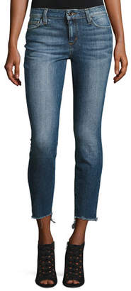 Joe's Jeans The Blondie Mid-Rise Skinny Ankle Jeans, Corynna $179 thestylecure.com