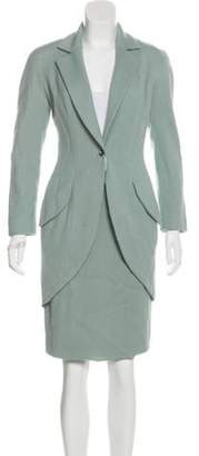 Christian Dior Wool Skirt Suit w/ Tags Wool Skirt Suit w/ Tags