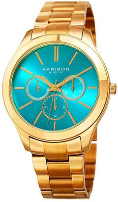 Akribos XXIV Women's Quartz Multi-Function Bracelet Watch $66.97 thestylecure.com