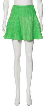 Rag & Bone Textured Mini Skirt