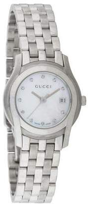 Gucci 5500 Series Watch w/ Mother of Pearl Dial