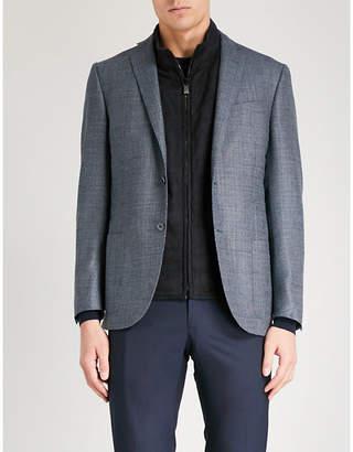 Corneliani Academy-fit wool and silk-blend jacket