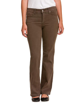 NYDJ Not Your Daughter's Jeans Petite Sarah Earth Green Bootcut