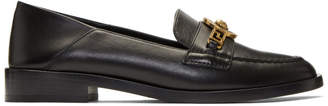 Versace Black Tribute Medusa Folded Loafers