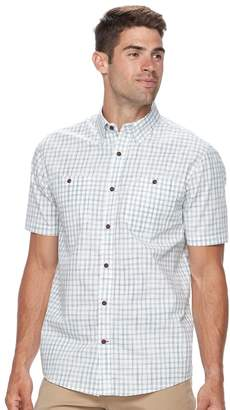Coleman Men's Regular-Fit Plaid Button-Down Performance Guide Shirt
