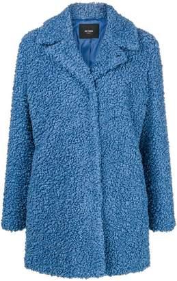 Twin-Set faux fur midi coat