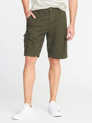 """Old Navy Lived-In Built-In Flex Ripstop Cargo Shorts for Men (10"""")"""