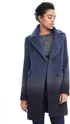 Ombre Wool-Blend Coat $298 thestylecure.com