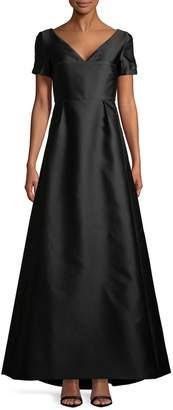 Max Mara Women's Dede Cap Sleeve Gown