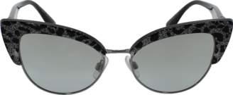 Dolce & Gabbana Leopard Cat Eye Sunglasses