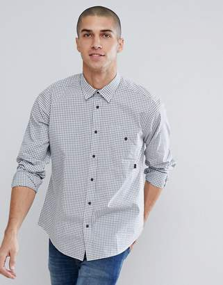 Barbour International Automatic Check Shirt In Blue