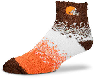 For Bare Feet Cleveland Browns Marquee Sleep Soft Socks