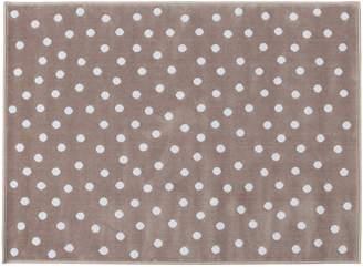 Lorena Canals Dots Acrylic Rug (Dark Grey/Blue)