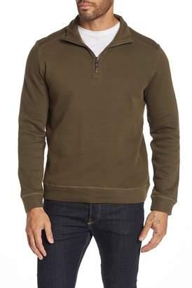 English Laundry Quarter Zip Mock Neck Sweater