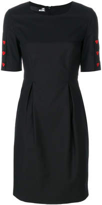 Love Moschino cinched waist dress