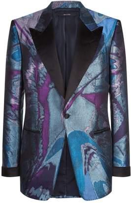 Tom Ford Marble Jacquard Shelton Jacket