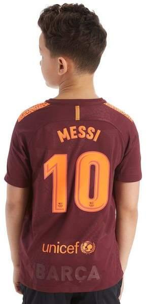 FC Barcelona 2017 Messi #10 Third Shirt Junior