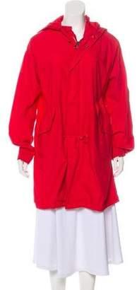Nili Lotan Knee-Length Hooded Coat