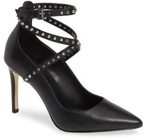 MICHAEL Michael Kors Jeannie Studded Ankle Wrap Pump