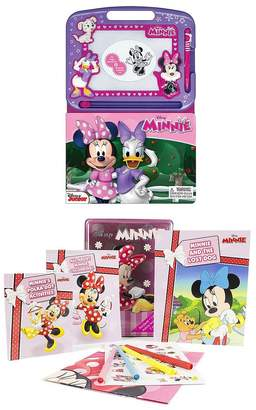 Disney Minnie Mouse 2 Book Bundle - Learning Series & Happy Tin