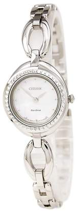 Citizen Women's Eco-Drive Silhouette Interchangeable Bezel Bangle Watch, 24mm
