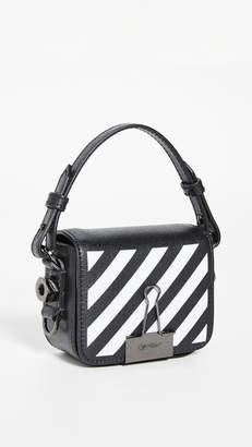 Off-White Diagonal Baby Flap Bag