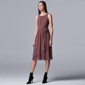 Vera Wang Women's Simply Vera Knot-Waist Dress