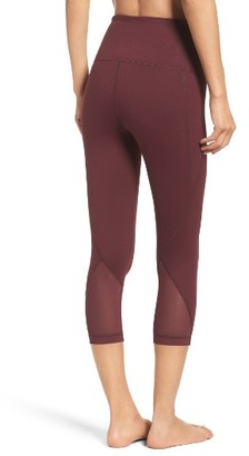 Women's Zella 'Hatha' High Waist Crop Leggings $52 thestylecure.com
