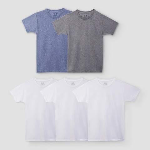 Boys' Undershirts -White