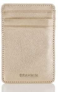 Brahmin Kara Card Case Moonlit