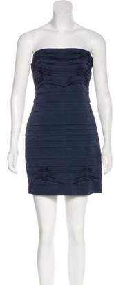 BCBGMAXAZRIA Strapless Mini Dress w/ Tags