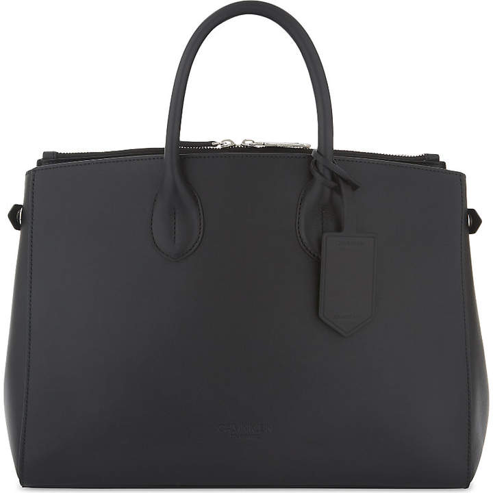 Calvin Klein Large leather tote
