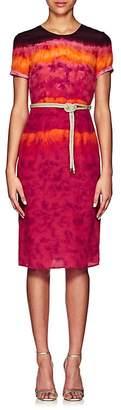 Altuzarra Women's Tie-Dyed Silk Midi-Dress