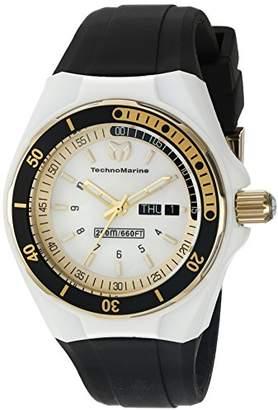 Technomarine Women's TM-115118 Cruise Sport Analog Display Swiss Quartz Black Watch