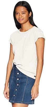 RVCA Junior's Label Pocket T-Shirt