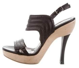 Marni Platform Slingback Sandals