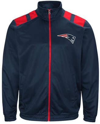 G-iii Sports Men's New England Patriots Broad Jump Track Jacket