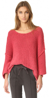 Free People Halo Pullover $128 thestylecure.com