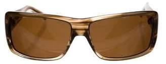 Blumarine Tinted Rectangular Sunglasses
