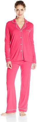 Cosabella Women's Bella Long-Sleeve Top and Pant Pajama Set
