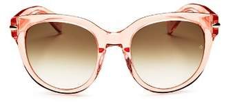 Rag & Bone Women's Oversized Polarized Square Sunglasses, 54mm