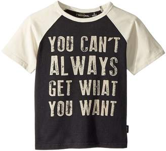 Rock Your Baby You Can't Always Short Sleeve Tee Boy's T Shirt