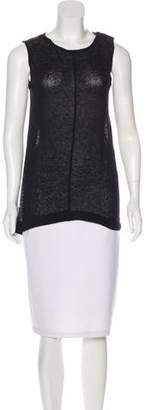Les Chiffoniers Sleeveless Scoop Neck Top w/ Tags