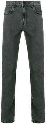 McQ Eyewear Mismatched Strummer slim-fit jeans