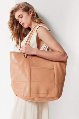 Urban Outfitters Leather Bucket Tote Bag