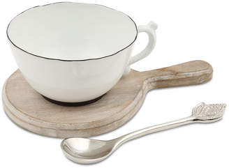 Thirstystone Closeout! Teacup Dip Bowl Set with Paddle & Spoon