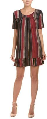 BCBGeneration Ruffle Shift Dress